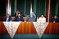 The Prime Minister, Dr. Manmohan Singh at a delegation level talks, at Abuja, Nigeria on October 15, 2007.jpg