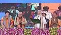 The Prime Minister, Shri Narendra Modi flagging off the Third Mahamana Express to Run between Varanasi and Vadodara, in Varanasi, Uttar Pradesh on September 22, 2017.jpg