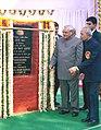 The Prime Minister Shri Atal Bihari Vajpayee laid the foundation stone of Pravasi Bhawan, in New Delhi on December 14, 2003.jpg