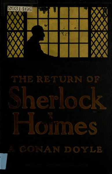 File:The Return of Sherlock Holmes, edition published in 1905 by McClure, Phillips & Co., New York..djvu