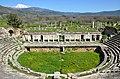 The Roman theatre, built in the second half of the 1st century BC on the eastern slope of the acropolis, Aphrodisias, Caria, Turkey (17901600264).jpg