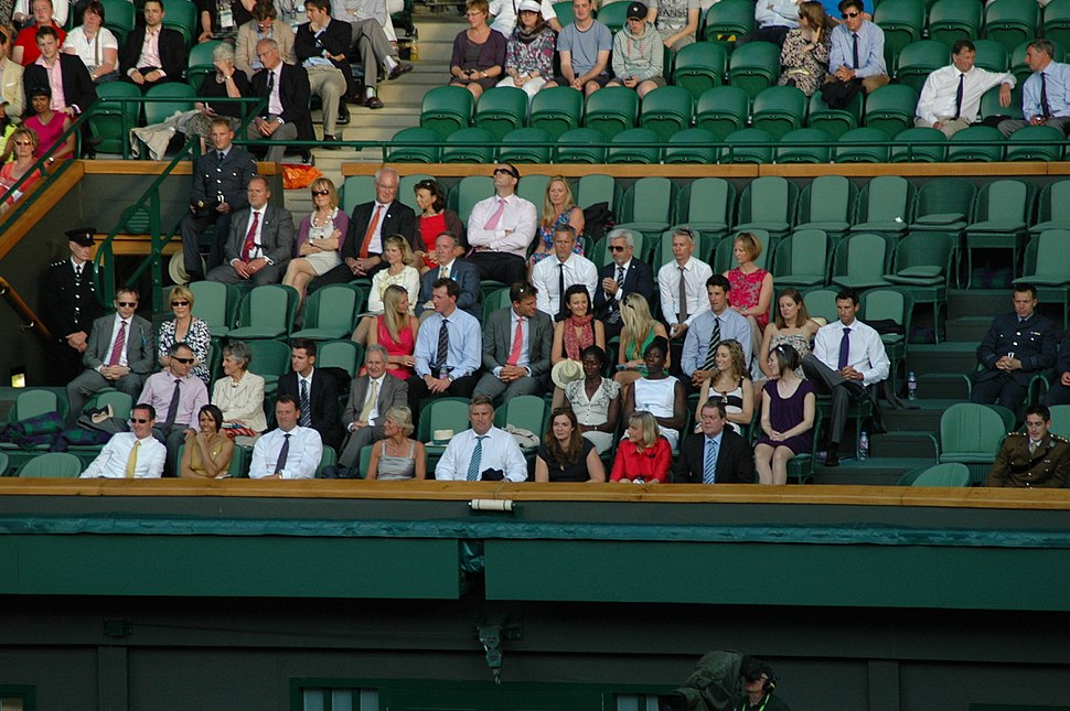 The Royal Gallery at Centre Court, Wimbledon