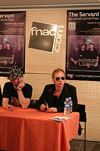 The Servant 20061014 Fnac 01.jpg