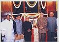 The Speaker, Lok Sabha, Shri Somnath Chatterjee, the Leader of the House in the Lok Sabha, Shri Pranab Mukherjee, the Leader of Opposition in the Lok Sabha.jpg