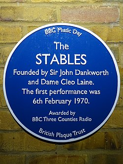 The stables (british plaque trust bbc music day)