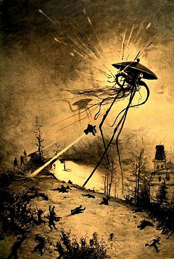 The War of the Worlds by Henrique Alvim Corrêa 14 colored