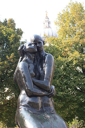 Georg Ehrlich - The Young Lovers, in the gardens of St Paul's Cathedral