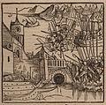 The battle of Negropont (1470) - Johannes Adelphus - 1513.jpg