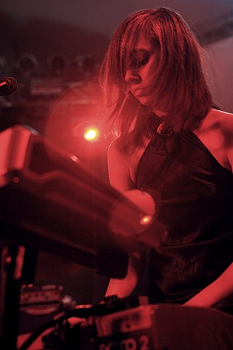 The Dears - Natalia Yanchak performing at South by Southwest.