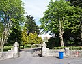 The entrance gate and grounds of the Sacred Heart Church, Dublin Road - geograph.org.uk - 1901442.jpg