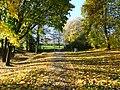 The footpath through Piggies Hill Park, Chepstow (geograph 5973203).jpg