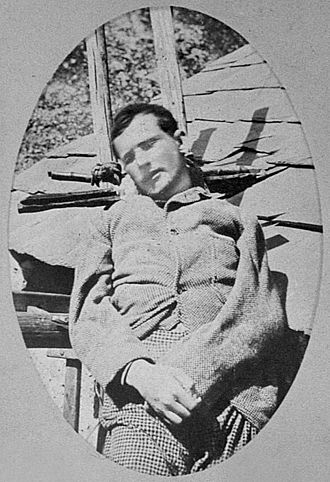 Henri Cordier (mountaineer) - Henri Cordier's corpse, photographed by Henry Duhamel