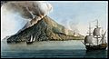 The island of Stromboli, smoke erupting from its peak. Colou Wellcome V0025281.jpg