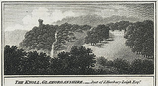 The knoll, Glamorganshire: seat of J. Hanbury Leigh Esqr