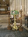 The lectern at Winchester Cathedral - geograph.org.uk - 1164228.jpg