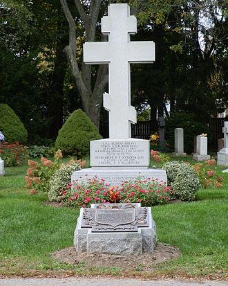 York Cemetery, Toronto - Grand Duchess Olga Alexandrovna of Russia