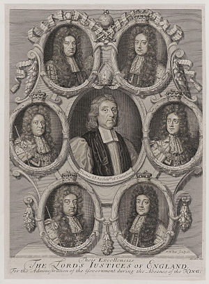 Excellency - Their Excellencies the Lords Justices of England, for the administration of the Government during the absence of the King by Robert White