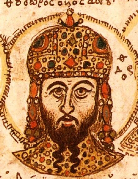 Theodore II Laskaris miniature
