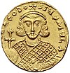Theodosios III. front side of a solidus