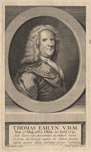 Thomas Emlyn - Thomas Emlyn, V.D.M.