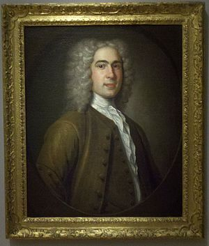Thomas Hancock (merchant) - A 1730 portrait of Thomas Hancock by John Smibert