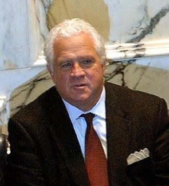 Maryland Senate - Image: Thomas V. Mike Miller at Franchot inauguration cropped