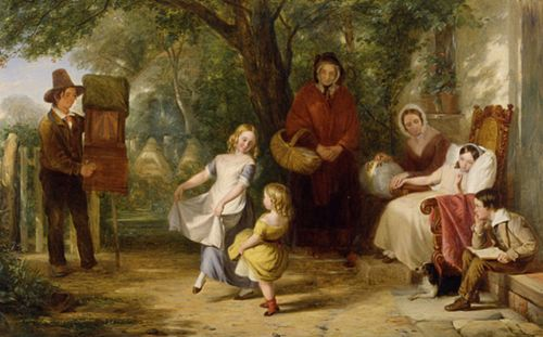 In Sickness and Health (1843; Victoria and Albert Museum, London) Thomas Webster07.jpg