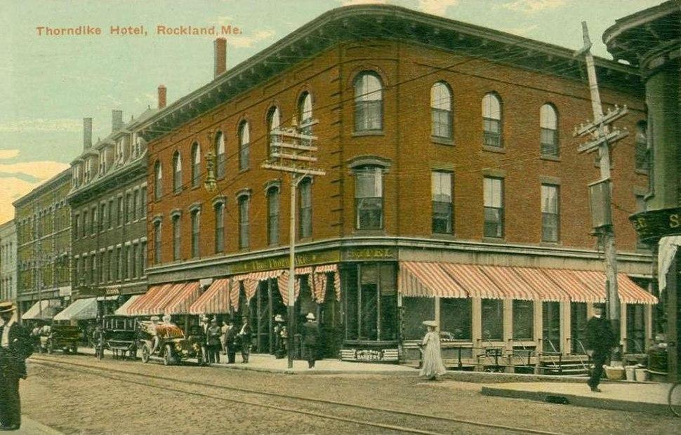 Thorndike Hotel, Rockland, ME