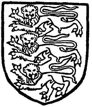 Bailiwick of Guernsey - Duchy of Normandy three leopards symbol