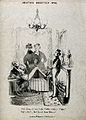 Three dandies smoking and drinking coffee. Lithograph after Wellcome V0019098.jpg