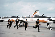 Thunderbirds T-38As 1980