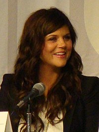Tiffani Thiessen 2010.