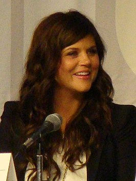 Tiffani Thiessen in 2010