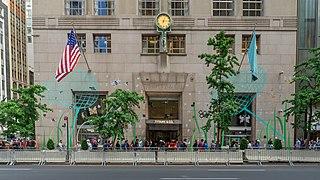 Tiffany & Co. American luxury retail company