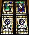 Timoteo viti, vetrata con annunciazione e stemmi guidalotti, 1515-20.JPG