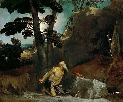 Category St Jerome In Penitence Titian Louvre Inv 750
