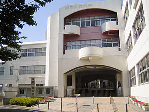 Tokyo Polytechnic University - Image: Tokyo Polytechnic University (school gate)