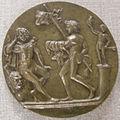 Tomaso di calisto (maestro delle eroiche virtù), ercole che sogna virtù e vizio, 1470-1480 circa.JPG