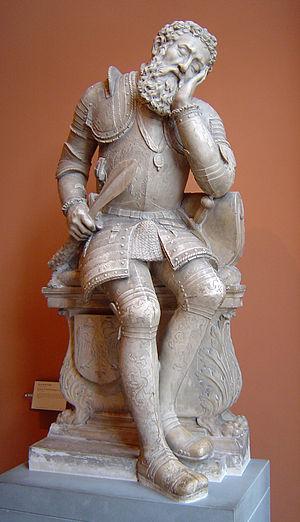 Pierre Bontemps - Figure from the tomb of Charles de Maigny (Musée du Louvre)