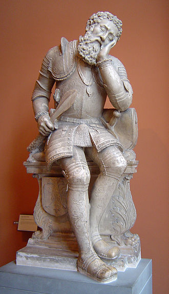 Pierre Bontemps - Figure from the tomb of Charles de Maigny (Musée du Louvre)