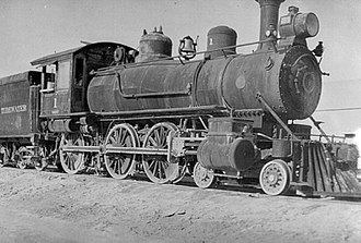 Tonopah and Tidewater Railroad - Image: Tonopah and Tidewater No. 1