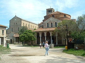 Torcello Cathedral - Santa Maria Assunta (left) and Santa Fosca (right)