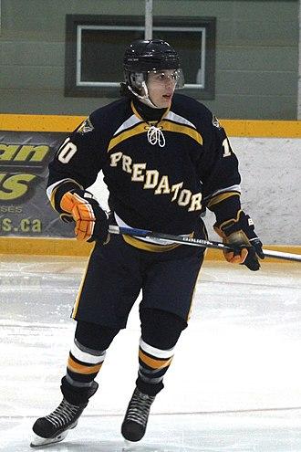 Toronto Predators - Predators defenceman Nikita Van during 2015–16 season.