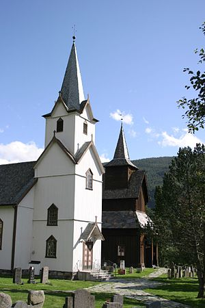Torpo - Torpo Church and Torpo Stave Church