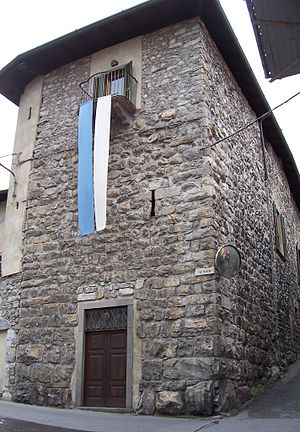 Borno, Lombardy - Housetower in Borno