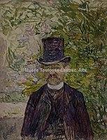 Toulouse-Lautrec - Mr. DESIRE DIHAU, BASSON DE L'OPERA, 1891, MTL.135.jpg