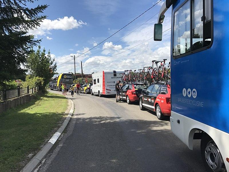 Tour de l'Ain 2017 - étape 1: départ à Polliat.