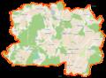 Trąbki Wielkie (gmina) location map.png