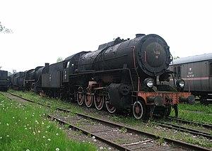 Liberation Class - Polish Tr202-19 in a heritage park in Chabówka.