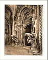Traû vestibule of the cathedral Dalmatia Austro-Hungary.jpg